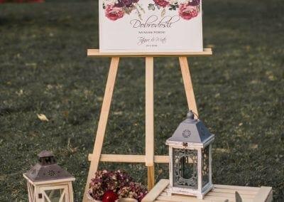 Tabla Dobrorošli na najini poroki